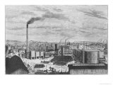 Deutsch Company, the Factory at Rouen, from Les Grandes Usines by Julien Turgan, c.1880 Giclee Print