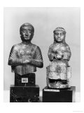 Woman with the Shawl, Woman Holding an Aryballos, Neo-Sumerian, Telloh, Ancient Girsu, c.2150 BC