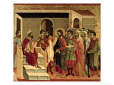 Maesta: Jesus Before Herod, 1308-11
