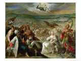 Allegory of the Turkish Wars: The Capture of Stuhlweissenburg, 1603-4 Giclee Print