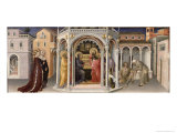 The Presentation in the Temple, from the Altarpiece of the Adoration of the Magi, 1423 Giclee Print
