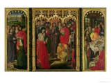 Resurrection of Lazarus Triptych, the Raising of Lazarus