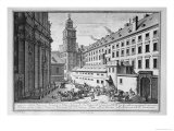 New Observatory in the Jesuit College, Vienna, Church of St. Maria Rotunda, Engraved Corvinus