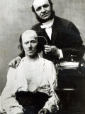 Duchenne de Boulogne with a Victim Patient, 1862