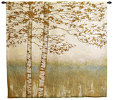 Birch Silhoutte I Wall Tapestry