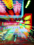 Neon Lights in Jordan and Mong Kok District, Hong Kong, China