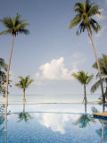 Palm Trees and Swimming Pool, Ko Chang, Kho Chang Island, Thailand