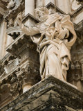Buy Statue at Duomo Cathedral, Ortygia Island, Syracuse, Sicily, Italy at AllPosters.com