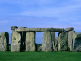 Abstract of Stones at Stonehenge, England