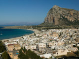 Buy Resort Town View and Monte Monaco, San Vito Lo Capo, Sicily, Italy at AllPosters.com