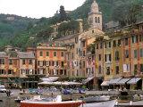 Buy Harbor Front, Portofino, Riviera di Levante, Liguria, Italy at AllPosters.com