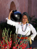 Native Woman, Tourism in Oaxaca, Mexico