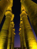Colonnade of Amenophis III at Luxor Temple, Luxor, Egypt