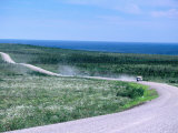 Vehicle on Dempster Highway Linking Dawson City and Inuvik, Inuvialuit Settlement Region, Canada