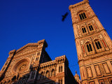 Late Afternoon Light on Duomo and Campanile, Florence, Italy