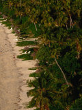 Aerial View of North Beach, Mana Island, Western Division, Fiji