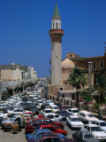 Rush Hour in the Walled City of Tripoli, Libya