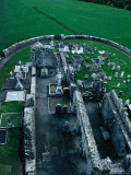 Remains of 16th Century Fransiscan Friary on Slane Hill, Ireland