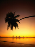 Buy Sunset Over Aitutaki Lagoon, Aitutaki, Southern Group, Cook Islands at AllPosters.com