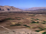 Overhead of Plain Cultivated with Crops, Rada, Yemen