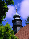 Church Steeple in Black Forest, Triberg, Baden-Wurttemberg, Germany