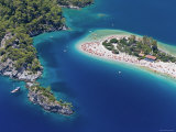 Blue Lagoon and Belcekiz Beach, Oludeniz, Near Fethiye, Mediterranean Coast, Turkey