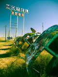 USA, Texas, Route 66, Conway Bug Ranch, Made of VW Beetles
