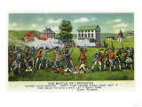 Lexington, Massachusetts - Battle of Lexington Scene