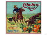 Cowboy Orange Label - Tustin, CA