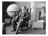 Theodore Roosevelt in Rocking Chair Photograph - Washington, DC