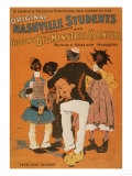 Nashville Students & Minstrel Carnival Blacks Poster No.3