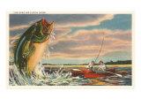 Buy Landing Giant Fish at AllPosters.com