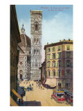 Buy Tower and Cathedral, Florence, Italy at AllPosters.com