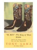 El Rey Tony Loma Cowboy Boots