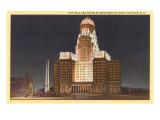 Night, City Hall, Buffalo, New York