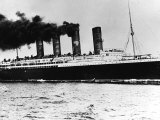 The Liner Lusitania was Torpedoed off the Old Head of Kinsale Ireland on 7th May 1915