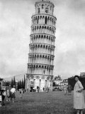 Leaning Tower of Pisa, Italy, May 1955