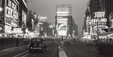 Times Square at Night, New York City, c.1938 Kunstdruck