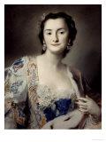 Anna Katharina Orzelska, Countess of Orzelska Art Print