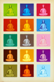 Buy Buddha - Pop Art at AllPosters.com
