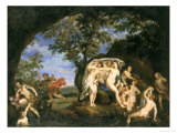 Diana With Nymphs and Actaeon