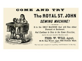 The Royal St. John Sewing Machine