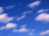 Cumulus Clouds in a Late Summer Sky Photographic Print
