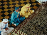 High Priests in Prayer in Tay Ninh Province
