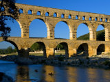Pont Du Gard and Canoes