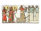 Assyrians Attacking a City Using a Battering Ram