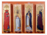 Saints Ambrose, Jerome, Augustine and Gregory
