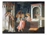 Scenes from the Life of St. John the Evangelist: the Saint with Angels