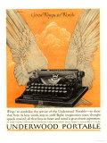 Underwood Portable Typewriters Equipment, USA, 1922