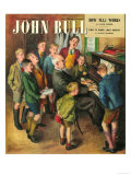 John Bull, School Concerts Singing Pianos Teachers Lessons Magazine, UK, 1948
